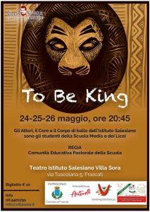 musical to be king 2019 villa sora