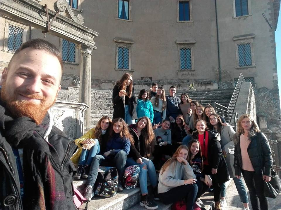 VISITA AL visita museo Palestrina 2018